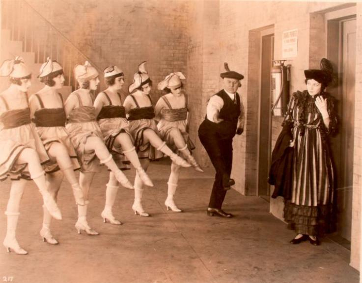 Irene Castle and chorus girls The Amateur Wife - (1920)