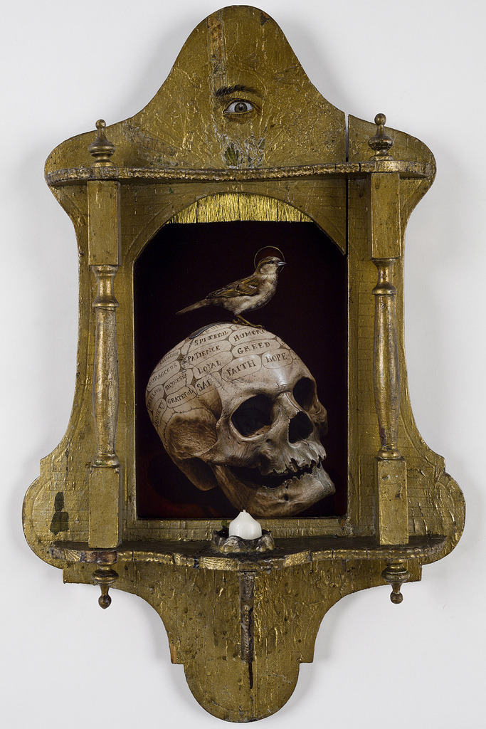 snowce:  Jean Labourdette - Vanitas with candle.