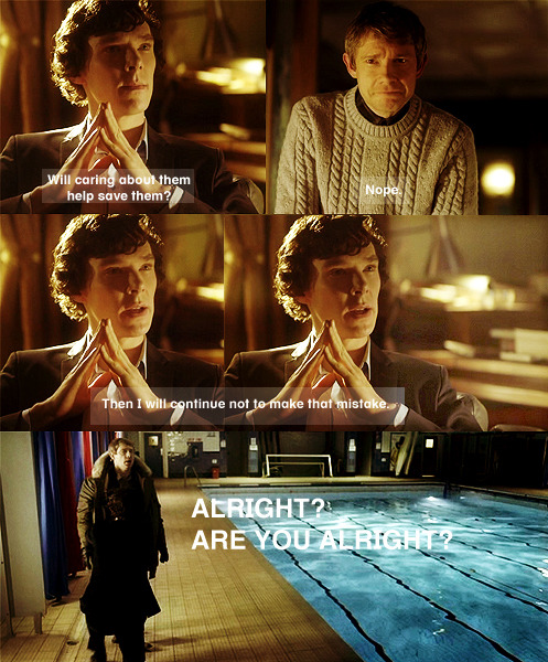 wordsinhaled:  Sherlock, you've shown your hand. Oops.