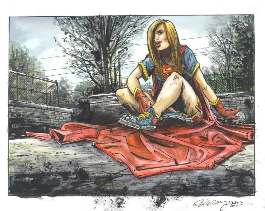 Supergirl by Ryan Kelly