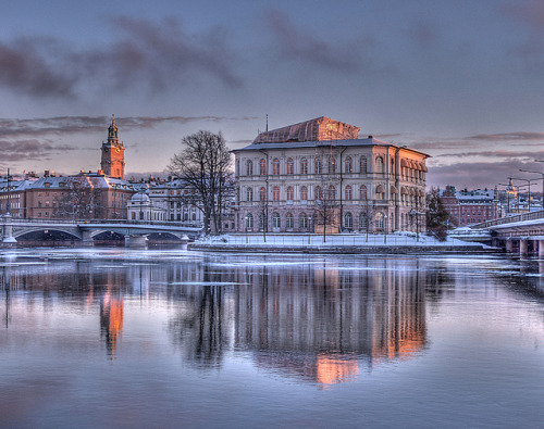 wow… such an awesome pic… love the HDR treatment   allthingseurope:  Strömsborg, Stockholm, Sweden (by Kurt Qvist)