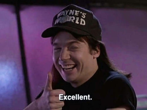 waynes world excellent