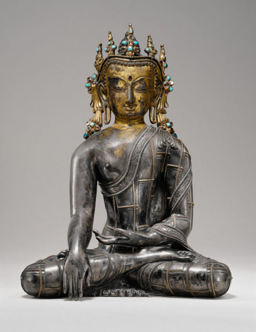 artemisdreaming:  Buddha Sakyamuni, Tibet, 13th century