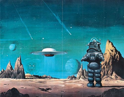 Forbidden Planet (1956) via www.wrongsideoftheart.com  IF YOU LIKE THIS YOU'LL ALSO LIKE THIS