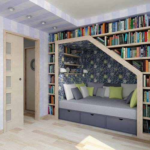 loving this reading nook…