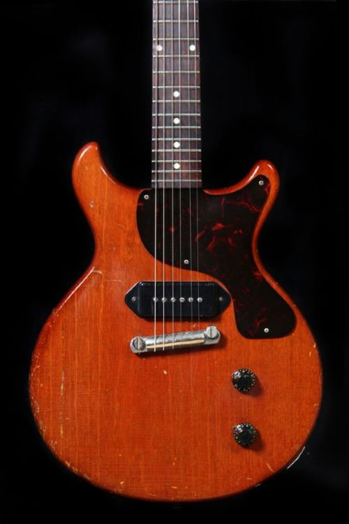 1960 Cherry Faded Gibson Les Paul Junior.  Simple and efficient