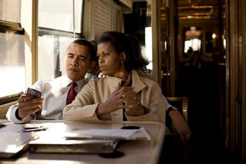"wolfandmay:   One night President Obama and his wife Michelle decided to do something out of routine and go for a casual dinner at a restaurant that wasn't too luxurious. When they were seated, the owner of the restaurant asked the President's Secret Service if he could please speak to the First Lady in private. They obliged and Michelle had a conversation with the owner. Following this conversation President Obama asked Michelle, ""Why was he so interested in talking to you?"" She mentioned that in her teenage years, he had been madly in love with her. President Obama then said, ""So if you had married him, you would now be the owner of this lovely restaurant,"" to which Michelle responded, ""No. If I had married him, he would now be the President.""  Fave."
