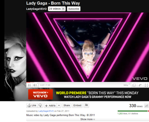 GAGA! wahahaha! masasarhan na ako ng appartment…pero i'm the 330th viewer!!! Manifesto of Mother Monster!!! FTW