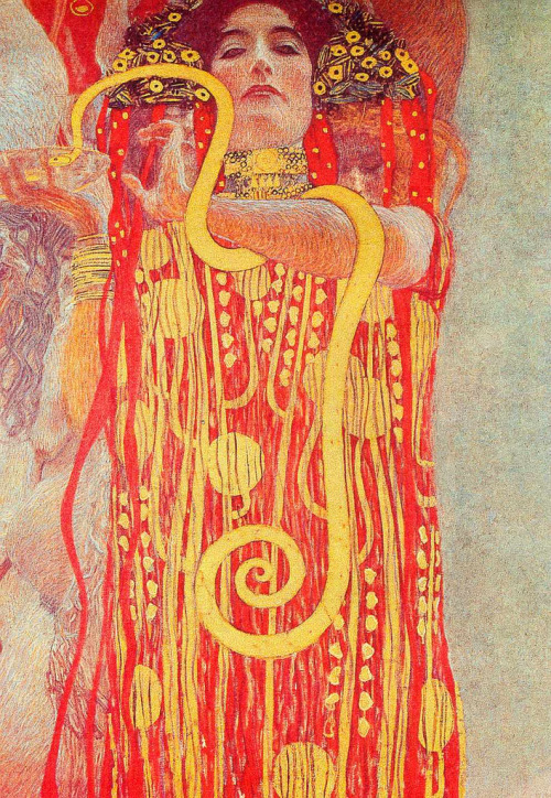 oddresonance:  Medicine Gustav Klimt