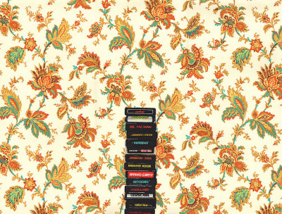 pulmonaire:  Atari & Flower Wallpaper (by Hollis Brown Thornton)