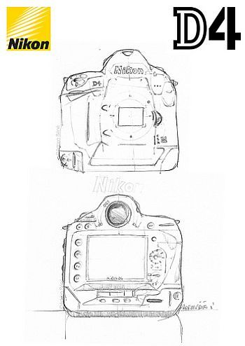 "The Nikon D4 will be the first DSLR to feature ""Thunderbolt"" technology.  ""Thunderbolt"" Intel's new Light Peak technology, ""allows for 10 gigabit/s speeds for data transfers to and from external devices."" Click the pic to read the full article from www.devicemag.com."
