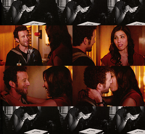 foxbones:  Angela: You don't need to give me a gift.Hodgins:  I really really do, it's the only way I can show you what a gift you've been to me.Angela: Oh god, have you been working on that one all dayHodgins: Pretty much. Hodgins: Take a whiff.Angela: That smells like roses.Hodgins: It's a hybrid slime mold, I spliced in a segment of rose DNA. Its called Angelacus Montenegrus.