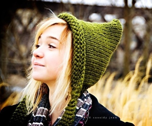 Pixiebell - handknit hats in a variety of styles.  Also carries knitting patterns, if you'd prefer to make your own!