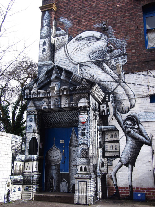 cinoh:  Phlegm @ Black/Light, London