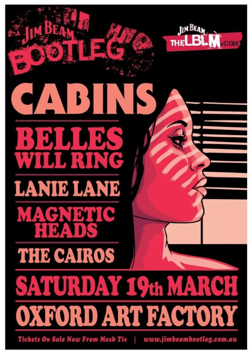 PLAYING LIVE Saturday 19th March at Oxford Art Factory, Sydney