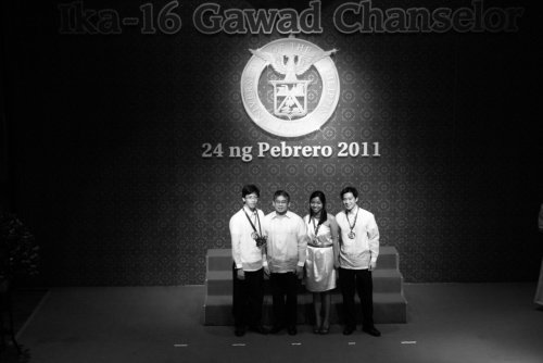 Two Gawad Chanselor Awardees this year are Alchemists. How cool is that?! Congratulations to Mr. Jhud Aberilla and Ms. Nikki Yazon. UP! UP!