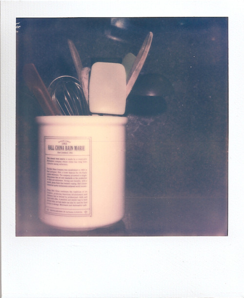 A cold developed PX70 shot. 3/6