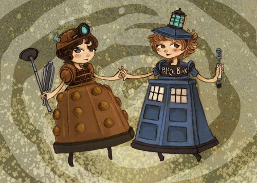 fyeahtardis:  omg they are holding hands!!!!!! <3  Cute!
