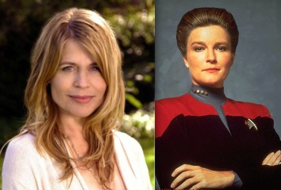 10 Almost-Cast Star-Trek Actors that Would've Improved the Franchise: Linda Hamilton as Captain Kathryn JanewayCan you imagine how much better Voyager would've been with a captain that was, well, actually likable? Let's face it, Mulgrew's performance might've been pretty accurate to what a female starship captain might actually be like, but she certainly didn't turn out as engaging as any of the other captains. We're betting that Linda Hamilton would've worked out better… because who doesn't like Sarah Connor? Apart from killer robots from the future, of course. Star Trek casting directors, I am disappoint.