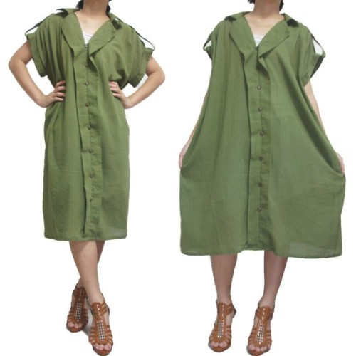 Green Cotton - Lots of loose, flowy clothing items that would work well with mori girl style.  Also has a good number of wide-leg pants and some very cute dresses that have a very mori silhouette.