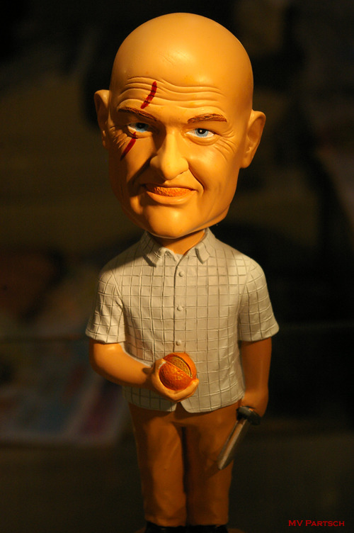 """Don't Tell Me What I Can't Do."" John Locke: Bobble Head.  Comic-Con. San Diego. 2010. Entertainment Earth Display. Aisle 2300."