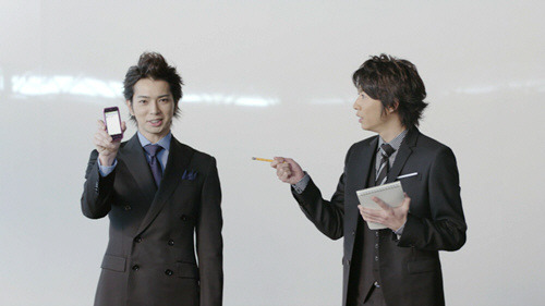 au by KDDI - Google Android ''3000 or so'' by Jun Matsumoto & Masaki Aiba
