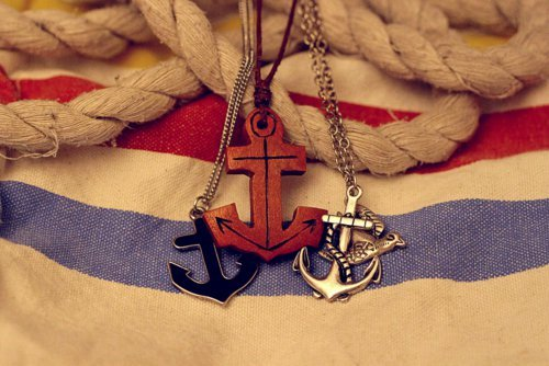 Anchors! Okay, I think she likes this. Haha. :>