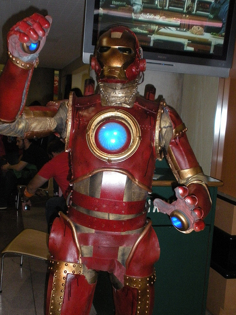 Iron Man (Marvel 1602) Taken at New York Comic-Con 2010 Source: New York Cosplay