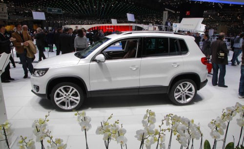 Europeans like SUVs too—provided they're handsome, practical and not obscenely oversize.In the U.S., the 2012 Volkswagen Tiguan will get the 2.0-liter TSI gasoline turbo 4-cylinder, which produces 210 bhp.