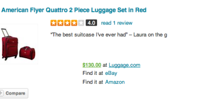 What people are saying about American Flyer #Luggage!