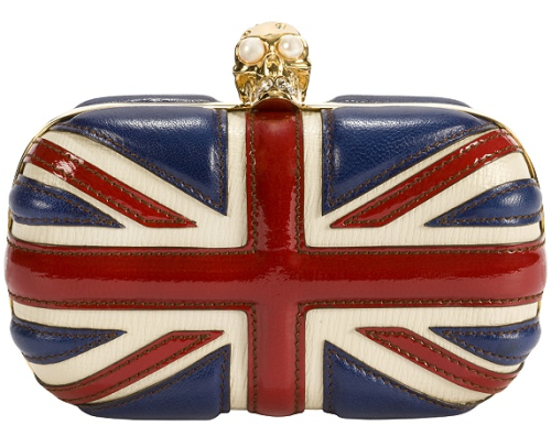 COOL BRITTANIA. it's been done to death but i still want one. i got the accessorize sequin union jack clutch for my birthday a couple years ago but it's not the same!