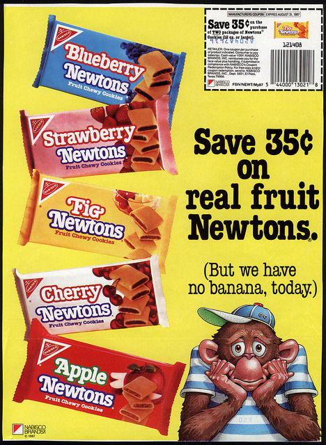 Fruit Newtons Courtesy of Jason Liebig