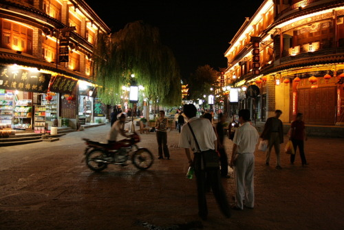 Nightlife in Dali