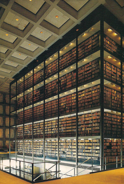 tobeshelved:  philosofica:  Beinecke Library, Yale (by Endless Forms Most Beautiful)  HOLY CRAP