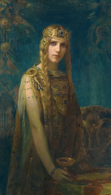 edwardianera:  Isolde by Gaston Bussière, 1911