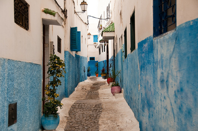 | ♕ |  Old path in Rabat, Morocco  | by chouaib| via travelthisworld