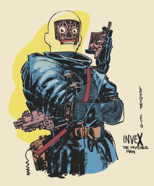 Invex the invisible man by Laemeur on Deviantart.