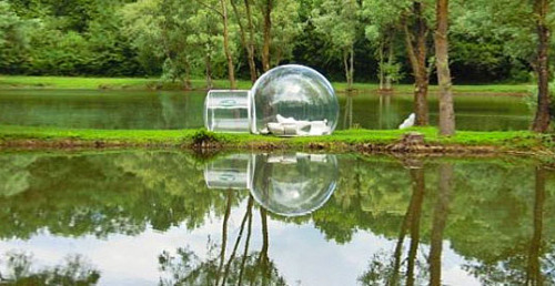 BubbleTree tent by Pierre Stephane Dumas