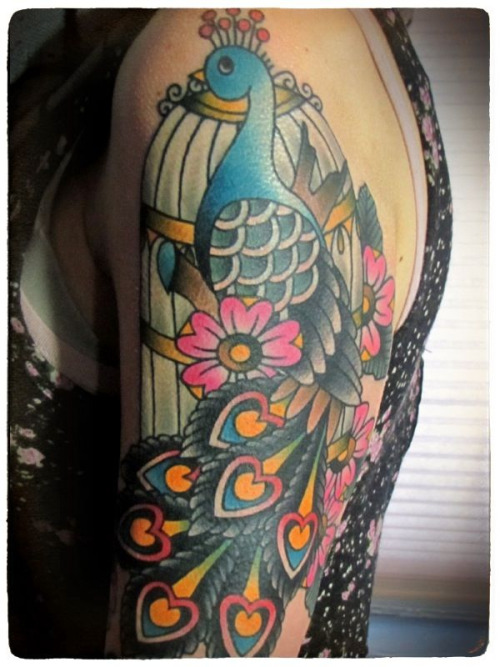 traditionaltattoos:  Ashley Love
