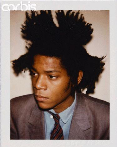 Jean Michel Basquiat by Andy Warhol.