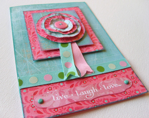 Handmade Card (by Rachel Mackin)
