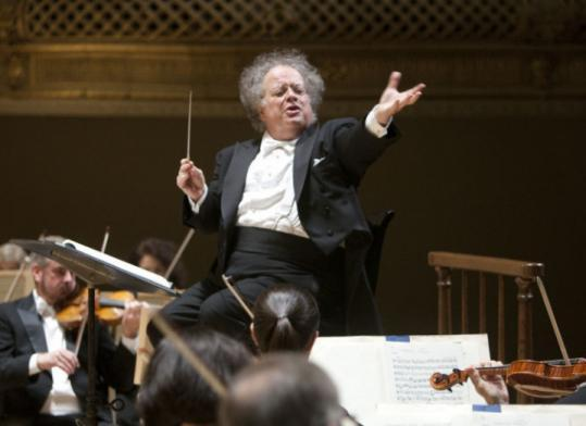 Levine  stepping down as BSO music director - Boston Symphony Orchestra music director James Levine, whose tenure was marked by artistic highs but long absences due to his health problems, will step down from his post at the end of orchestra's summer season in Tanglewood, the BSO has announced.