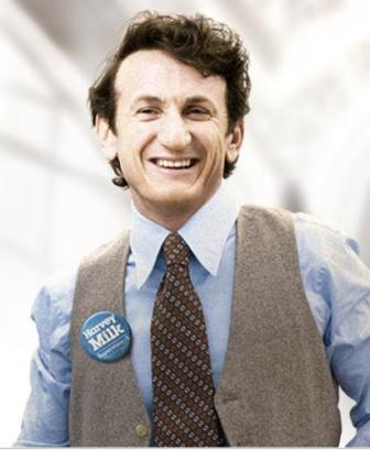 "-rosasparks-:  Sean Penn as Harvey Milk. This movie is so good, IN EVERY WAY, and imagine anyone else delivering this performance. You can't. This is one of the greatest and important movies ever made, I am not kidding. He is so good and must has something in there, somewhere, RIGHT?  Embarrassing admission time: I had no idea who Harvey Milk was until I started hearing about this movie. Maybe not embarrassing. I'm actually a little annoyed by this. My mother was living in SF during the riots immediately following his assassination, yet I never knew who he was.  (warning, this is about to turn into a rant against my parents, and against not going far enough) I posted Arwyn's piece on raising her kid purple and being aware that not every kid is cis or straight and being open to the idea that your kid might be trans or queer on my Facebook. One of my friends responded by saying ""I'm just going to let my kids be themselves."" When I talk to my parents about being queer (they don't know about my gender issues) my mother talks about ""teaching you guys to love the person, not the body."" Well, revelation time, I didn't even know that being queer or trans was possible until I figured out that I was queer and a friend told me that she was planning on transitioning. I was 16. I told my mom as soon as I realized, because I did trust her and I wanted her to say she was okay with it. That's not what I got. I got ""well, have you had sex with any of your boyfriends?"" ""Well, how do you know?"" ""Don't you think its just a phase? I mean, you do a lot of things just for attention…"" we didn't talk about my sexual orientation for almost a decade. She still believes that because she didn't threaten me, or kick me out or be physically violent that she was completely supportive. (My dad just sort of ignores the whole thing after making constipation faces when the subject comes up, or makes homophobic jokes about gay men then accuses me of being too sensitive when I point out that those jokes are only funny if you think there is something wrong with being gay. He also has deep insecurities about masculinity, specifically his own, but I think that can make a post in itself.) I'm sure my friend is comfortable leaving her support at ""letting them be themselves"" without any examination of how her expectations of who they are based on cultural expectations of cis and hetero normativity will give them a very specific message of how much she will support them if they aren't cis or straight thinks that is enough. Its not. Its not enough. If it was enough, it wouldn't have taken me until my twenties to know that someone like Harvey Milk existed, or about Stonewall, or that transitioning from your birth assigned gender was even possible. When the whole world around us tells us that only straight cis folk are real, we need more than not openly being hateful to be supported."