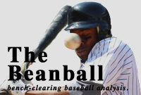 The Beanball is a place for no-nonsense, stat-backed, baseball analysis. While many other baseball sites and blogs rely on fact-less, gut-based opinions, The Beanball isn't afraid to crowd the plate with logic–even if that means taking criticism where it hurts. No player, General Manager, or team is safe if there's a statistical angle worth exploring. So watch out—especially you, Jeff Francoeur. The Beanball has been featured on mainstream sites like MLB Trade Rumors, MetsBlog, Amazin' Avenue, and many others. click here to view my personal baseball blog.