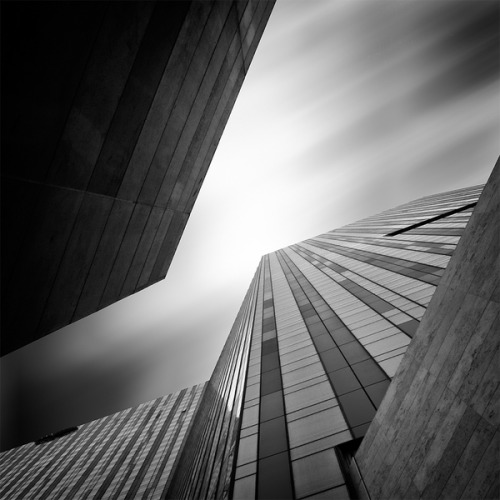 Perspective on Architecture Los Angeles based photographer Kevin Saint Grey has a fantastic eye for structure, geometry, and perspective when capturing images of buildings in downtown Los Angeles.  See the full series of photos on Behance.