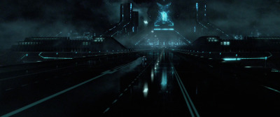 "transcendertheme:TRON: Architecture of LightDirector Joseph Kosinki is making his big-screen directorial debut with the upcoming TRON: Legacy movie after a well accomplished career as commercial director behind the ""Starry Night"" - Halo 3 and ""Mad-World"" - Gears of War commercials.  While creating the visual look for TRON Kosinski relied on his background architecture to create the scientific, geometrical and glossy world.In architecture school, Joseph Kosinski had to post his work in class for professor critiques before returning to the drawing board to fix his mistakes. Years later, he used the same approach to codify the look of Disney's Tron: LegacyInspired by real-world architects Kosinki looked to the clean and stark pioneers of modern architecture like"