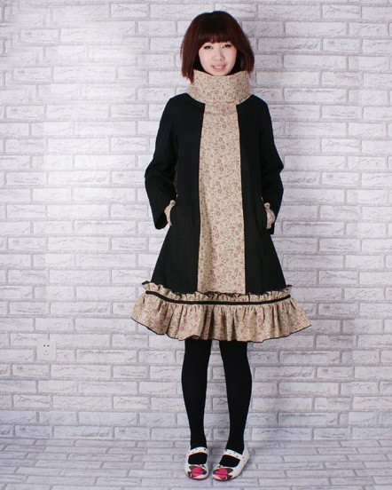 Qinliumei - Some particularly nice coats; also skirts and dresses.  All items one-of-a-kind.