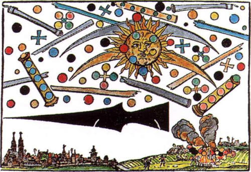 Nuremburg UFO Battle  1561