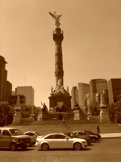 Ángel de la Independencia (sepia)