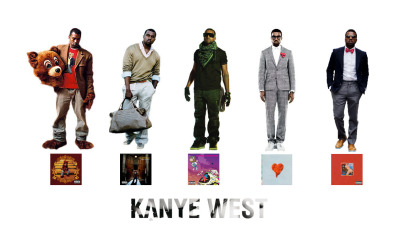 qtbduo:  the evolution of Kanye West